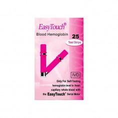Teste pentru hemoglobina Easy Touch, 25 bucati