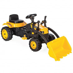 Tractor cu pedale si cupa Pilsan Active 07-315 galben