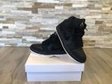 Vand Air jordan 1 mid black glitter 38, 500 lei, Negru, Nike