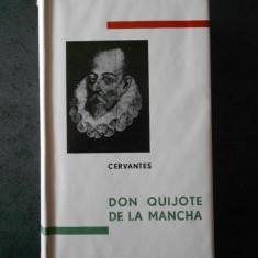 CERVANTES - DON QUIJOTE DE LA MANCHA (1965, editie bibliofila, hartie tigarete)
