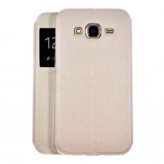 Husa Flip book S-View Huawei P10 Gold