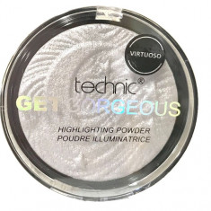Iluminator Cu Particule Irizante Technic Get Gorgeous Highlighting Powder Virtuoso 12g