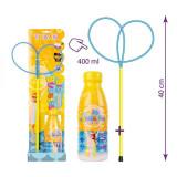 Set inel fluture + solutie pentru baloane de sapun, 400ml - TUBAN