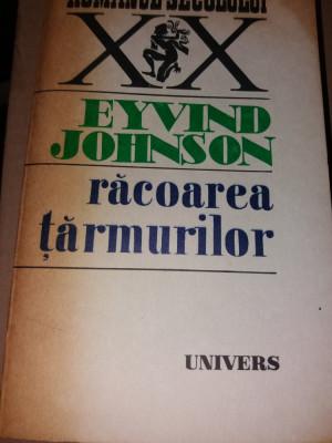 RACOAREA TARMURILOR - EYVIND JOHNSON TD foto