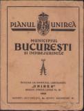 Planul Unirea Municipiul Bucuresti 1935