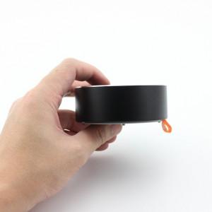 Mini boxa U8 waterproof, neagra, din aluminiu