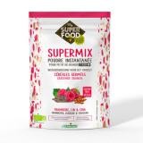 Cumpara ieftin Supermix pentru micul dejun cu zmeura, in si chia bio 350g, fara gluten