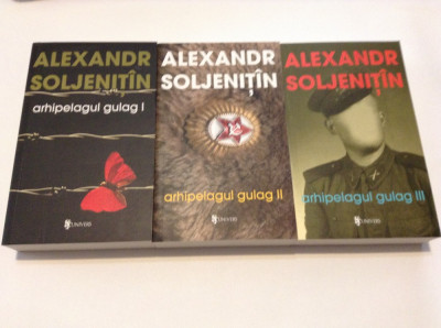 A. Soljenitin - Arhipelagul Gulag, 3 volume-rf17/2 foto