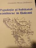 POPULAȚIA ȘI HABITATUL ROMANESC IN BALCANI - CONSTANTIN MIRCEA STEFANESCU 1997