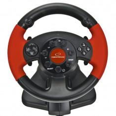 Volan cu pedale Esperanza High Octane, PC/PC2/PS3, 13 butoane