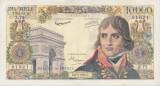 FRANTA 10000 FRANCS FRANCI BONAPARTE 6-6-1957 VF