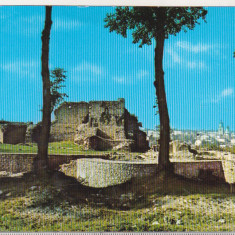 Bnk cp Suceava - Ruinele cetatii - necirculata - marca fixa, Printata