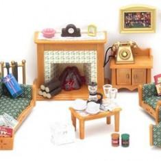 Jucarie Sylvanian Families Deluxe Living Room Set