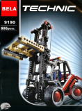JOC CONSTRUCTIE DIN PIESE TIP LEGO COMPATIBILE 100%,MOTOSTIVUITOR 2in1, 800PCS.