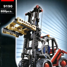 JOC CONSTRUCTIE DIN PIESE TIP LEGO COMPATIBILE 100%,MOTOSTIVUITOR 2in1, 800PCS.