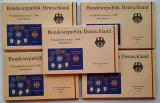 Colectie completa monede Germania 1996 - Proof, Europa