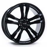 Jante BMW X6 Staggered 9J x 19 Inch 5X120 et37 - Mak X-mode Gloss Black - pret / buc, 9, 5