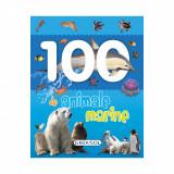 Carte Editura Girasol, 100 de animale marine