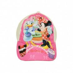 """Sapca Disney pentru fete """"Minie si Daisy"""" - Alb"""