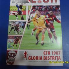 program      CFR  Cluj   -  Gloria  Bistrita