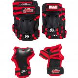 Set protectie Skate Cotiere Genunchiere si Incheieturi Avengers Seven SV9066Initiala