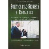Politica filo-sionista a Romaniei Presedintele Romaniei rugandu-se la Templul lui Solomon