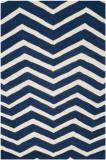Covor Modern & Geometric Edie, Lana, Albastru/Bej, 120x180, Safavieh