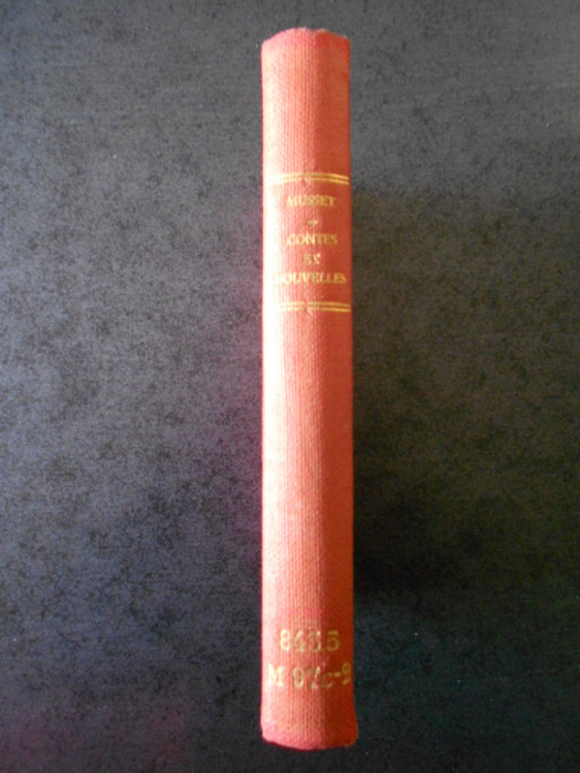 ALFRED DE MUSSET - CONTES ET NOUVELLES (1950)