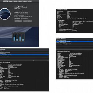 Mac Mini late 2012, i5, 16GB RAM,  SSD 500 GB
