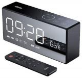 Boxa Portabila dido X9, HiFi cu sistem de alarma dual, 4000 mAh, 10 W, Bluetooth (Negru)