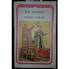 SCRIERI LITERARE - B . P . HASDEU