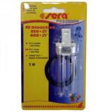 Sera UV-C Lamp 5W+Ring 250(UV)-400UV 30644, Bec UV rezerva