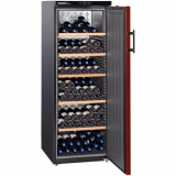Vitrina frigorifica Liebherr Premium WKr 4211, 401 l, 6 rafturi, Negru