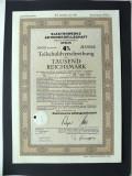 Titlu De Stat Obligatiune Germania 1943-1000-Reichsmark