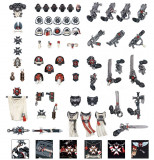 Accesorii Miniatura Warhammer 40k, Black Templars Chapter Upgrade