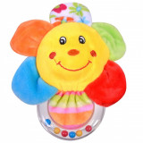 Jucarie zornaitoare, model floare, 18cm, multicolor