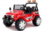 Masinuta electrica Jeep Raptor 2, rosu