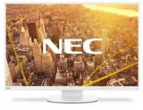 Monitor IPS LED NEC 24inch EA241WU, 1920 x 1200, VGA, DVI, HDMI, DisplayPort, USB 3.0, Pivot, Boxe (Alb)