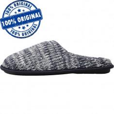 Papuci Mad Wax Knitted Mule pentru barbati - papuci casa - papuci iarna, 44, Din imagine