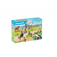 Playmobil Spirit - Caluti si lectii de tras cu arcul
