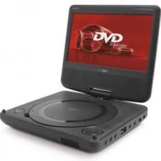 Player DVD Caliber mpd 107 portabil cu prindere pe tetiera, ecran 7 inch, USB
