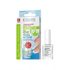 Tratament profesional pentru unghii 8 in 1, Eveline Cosmetics, Sensitive 12ml
