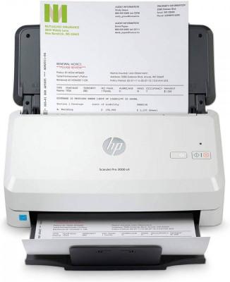 Scanner documente HP Scanjet Pro 3000 S4 USB A4 Alb foto
