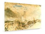 Tablou pe panza (canvas) - Joseph Mallord William - Eddystone Lighthouse.