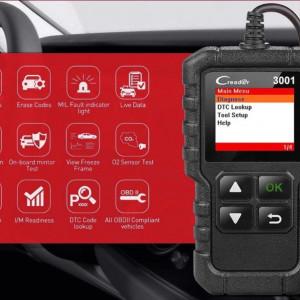 Diagnoza / Tester Auto Launch X431 : Scanare si stergere erori / Test emisii CO2