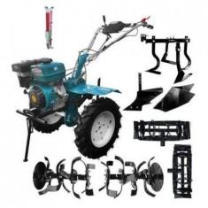 Motocultor Dkd Hs 1100D 13 CP+Roti Metalice+Plug Arat+Rarita Fixa+Prasitoare