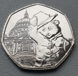 Moneda 50 pence 2019 Marea Britanie unc / necirculata, Paddington at St.Paul's