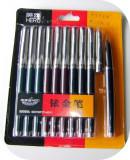 Blister cu 10 stilouri Hero 007_sigilat