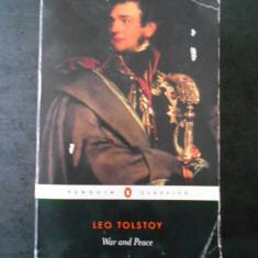 LEO TOLSTOY - WAR AND PEACE (1982, editie integrala, limba engleza)