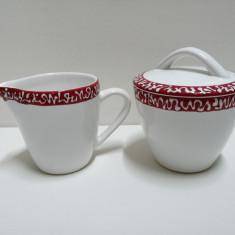Set cafea , pentru zahar si lapte